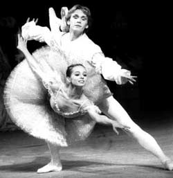 Diana Bishneva and Viktor Varanov